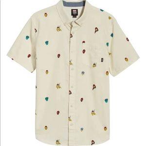 Vans x Marvel Houser Woven Button down Shirt NWT